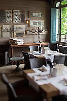 Europe/France/Aquitaine/33/Gironde/Bassin d'Arcachon/ Le Cap Ferret : Maison du Bassin, Hôtel-Restaurant de Charme, la salle du restaurant