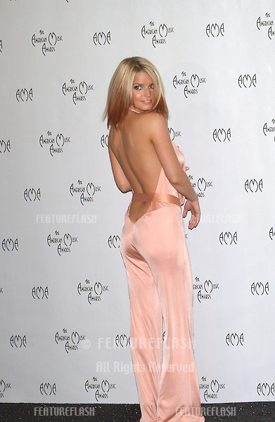 JESSICA SIMPSON at the 31st Annual American Music Awards in Los Angeles..November 16, 2003
