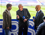 22.08.2020 Rangers v Kilmarnock: Neil McCann, Walter Smith and Alex Rae