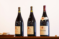 3 magnums vieilles vignes and fontaines 1998 2002 dom a voge cornas rhone france