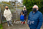 The residents of Castle Countess and Castle Demaine who are concerned about the development at the site of the former Christian Brothers Monastery, Castlecountess. Front l to r: Eamonn Young (Chairman). Back l to r: Maura O'Keeffe-Harchsen, Ann Marie Fuller and Orla Falvey.