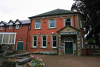 The museum in Llandrindod Wells in Powys, mid Wales, UK