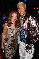 "LOS ANGELES, CA - JUNE 14: Tina Trozzo and Kuba Ka attend Polish popstar Kuba Ka performance for his single ""Stop Feenin'"" at Hyde Nightclub on June 14, 2013 in Los Angeles, California. (Photo by Celebrity Monitor)"