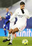 Real Madrid's Raphael Varane during La Liga match. February 9, 2021. (ALTERPHOTOS/Acero)