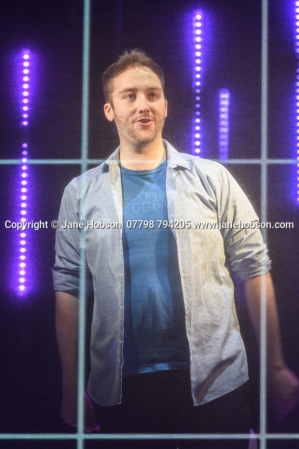 Vaudeville Theatre, London, UK. 27.05.2021. Adam Lenson Productions presents the live world premiere of PUBLIC DOMAIN, a verbatim musical written and performed by Francesca Forristal and Jordan Paul Clarke, as part of Nica Burns' Rising Stars Festival. Directed by Adam Lenson, with technical direction by Christian Czornyj, lighting design by Matt Daw, video design by Matt Powell, and costume and set design by Libby Todd. Photograph © Jane Hobson.