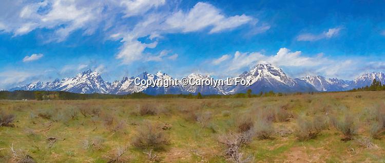 Grand Teton National Park is a beautiful park.