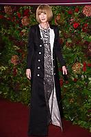Dame Anna Wintour<br /> arriving for the Evening Standard Theatre Awards 2019, London.<br /> <br /> ©Ash Knotek  D3539 24/11/2019