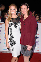 Helen Glover and Heather Stanning<br /> at the Pride of Britain Awards 2016, Grosvenor House Hotel, London.<br /> <br /> <br /> ©Ash Knotek  D3191  31/10/2016