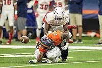 SAN ANTONIO, TX - NOVEMBER 23, 2019: The Florida Atlantic University Owls defeat the University of Texas at San Antonio Roadrunners 40-26 at the Alamodome. (Photo by Jeff Huehn)