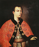 2ARW8W2 False Dmitry I. Painting of the 17th century.
