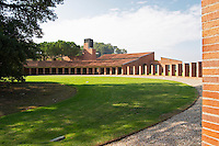 Winery building. New modern style. Codorniu, Sant Sadurni d'Anoia, Penedes, Catalonia, Spain