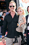 Ian Ziering and Penna Mae Ziering at Disney's World Premiere of Planes held at the El Capitan Theatre in Hollywood, California on August 05,2013                                                                   Copyright 2013 Hollywood Press Agency