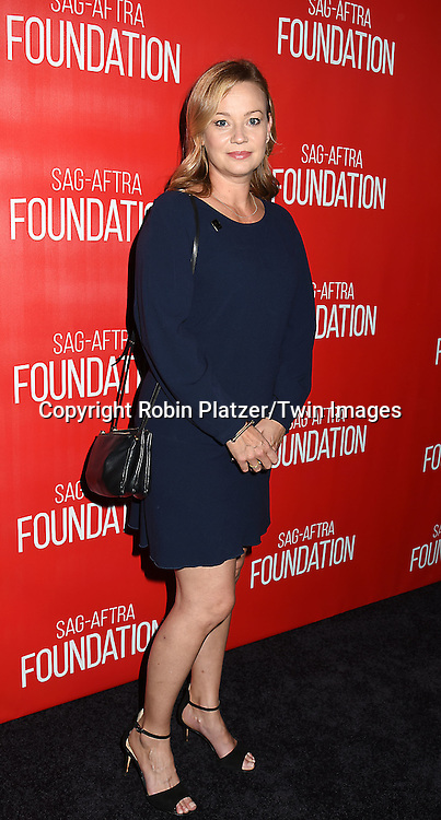 actress Samantha Mathis attends the Grand Opening of SAG-AFTRA Foundation Robin Williams Center on October 5, 2016 at The Robin Williams Center in New York, New York, USA.<br /> <br /> photo by Robin Platzer/Twin Images<br />  <br /> phone number 212-935-0770