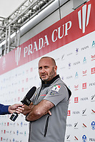 11th February 2021, Auckland, New Zealand;  Luna Rossa Prada Pirelli Team CEO Max Sirena (Italy). PRADA Cup Final Opening press conference at the PRADA media centre, America's Cup Race Village, Halsey Wharf, Auckland on Thursday 11th February 2021.