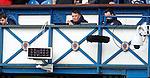 Rangers media staff enjoying their day's work