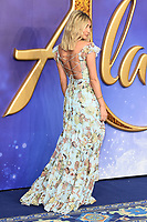 """Megan Mckenna<br /> arriving for the """"Aladdin"""" premiere at the Odeon Luxe, Leicester Square, London<br /> <br /> ©Ash Knotek  D3500  09/05/2019"""