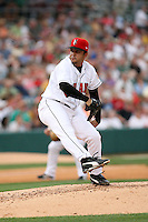 June 2, 2007:  Michael Tejera of the Indianapolis Indians at Victory Field in Indianapolis, IN.  Photo by:  Chris Proctor/Four Seam Images