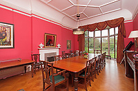 """BNPS.co.uk (01202) 558833<br /> Pic: Savills/BNPS<br /> <br /> An impressive lakeside country manor that has not been sold for almost a century is on the market for £5.5m.<br /> <br /> Woodside is an unlisted Georgian manor in a beautiful setting next to a lake, believed to have been created to supply energy for the bellows for the iron industry.<br /> <br /> Because the property is not listed, the new owners can have a historic home on the outside, but add modern touches inside to bring it into the 21st century without needing permission.<br /> <br /> The house is currently divided into two properties but agents Savills say it could easily be reunited to make one """"by the simple unlocking of doors rather than the removal of walls""""."""