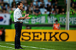 Choi Kang Hee coach of Jeonbuk Hyundai Motors. Jeonbuk Hyundai Motors vs Gamba Osaka during the 2015 AFC Champions League Quarter-Final 1st Leg match on August 26, 2015 at the Jeonju World Cup Stadium, in Jeonju, Korea Republic. Photo by Xaume Olleros /  Power Sport Images