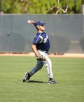 Zach Braddock / Milwaukee Brewers..Spring Training 2008..Photo by:  Bill Mitchell/Four Seam Images