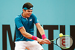 Milos Raonic, Canada, during Madrid Open Tennis 2017 match. May 11, 2017.(ALTERPHOTOS/Acero)
