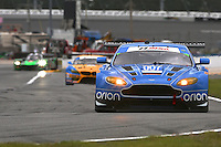 TRG Aston Martin, Rolex 24 at Daytona, IMSA Tudor Series, Daytona International Speedway, Daytona Beach, FL, Jan 2015.  (Photo by Brian Cleary/ www.bcpix.com )