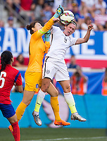 Harrison, NJ - May 30, 2015: The USWNT tied South Korea 0-0 during their international friendly at Red Bull Arena