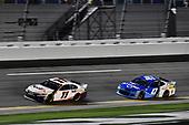 #11: Denny Hamlin, Joe Gibbs Racing, Toyota Camry FedEx Express and #47: Ricky Stenhouse Jr., JTG Daugherty Racing, Chevrolet Camaro Kroger