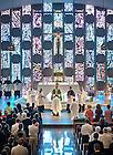 Sep 8, 2013; Patrick Reidy, C.S.C. is ordained a deacon by Archbishop Joseph W. Tobin, C.Ss.R. in Moreau Seminary Chapel.<br /> <br /> Photo by Matt Cashore/University of Notre Dame