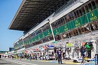 Pit Lane, 24 Hours of Le Mans , Saturday Set Up, Circuit des 24 Heures, Le Mans, Pays da Loire, France