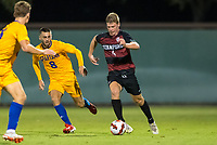 AND, A - SEPTEMBER 11: Conner Maurer during a game between San Jose State and Stanford University at And on September 11, 2021 in And, A.