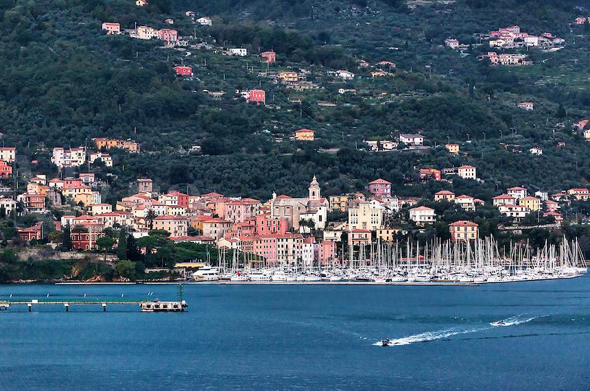 Italian coastal village of Fezzano, Liguria, italy
