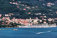 Italian coastal village of Fezzano, Liguria, italy