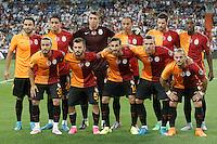 Galatasaray's team photo during XXXVI Santiago Bernabeu Trophy. August 18,2015. (ALTERPHOTOS/Acero)