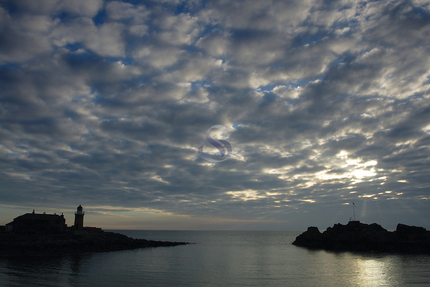 A dramatic sky of Portpatrick, Galloway<br /> <br /> Copyright www.scottishhorizons.co.uk/Keith Fergus 2011 All Rights Reserved