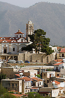 Zypern (Süd), Blick auf Bergdorf Lefkara