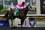 Delegation(5) with Jockey Patrick Husbands aboard.wins the Durham Cup Stakes (Grade III) at Pattison Canadian International  in Toronto, Canada on October 14, 2012.