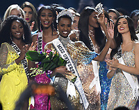 ATLANTA, GA - DECEMBER 8: 2019 MISS UNIVERSE: Miss South Africa, Zozibini Tunzi is crowned the new Miss Universe on the 2019 MISS UNIVERSE competition airing LIVE onSunday, Dec. 8(7:00-10:00 PM ET live/PT tape-delayed) on FOX. (Photo by Frank Micelotta/FOX/PictureGroup)