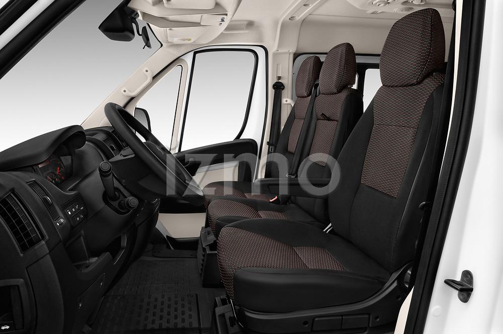 Front seat view of a 2018 Peugeot Boxer Active 4 Door Combi front seat car photos