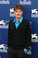 Antonio Folletto attends the photocall for the movie 'The Wait' during 72nd Venice Film Festival at the Palazzo Del Cinema, in Venice, Italy, September 5, 2015. <br /> UPDATE IMAGES PRESS/Stephen Richie