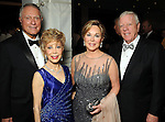 """From left: Jim Daniel and  Margaret Alkek Williams with Nancy and Rich Kinder at """"Modern"""" the  Museum of Fine Arts Houston's Grand Gala Ball  Friday Oct. 12,2012.(Dave Rossman photo)"""