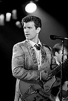 Chris Isaak in concert, July 25 1987 at Club Soda<br /> <br /> PHOTO : Pierre Roussel