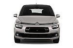 Car photography straight front view of a 2018 Citroen C4 Spacetourer Business + 5 Door MPV