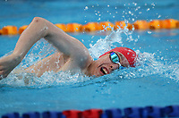 Lance Dustow. New Zealand Short Course Swimming Championships, National Aquatic Centre, Auckland, New Zealand, Tuesday 1st October 2019. Photo: Simon Watts/www.bwmedia.co.nz/SwimmingNZ