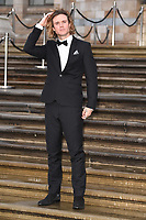 """Dougie Poynter<br /> arriving for the world premiere of """"Our Planet"""" at the Natural History Museum, London<br /> <br /> ©Ash Knotek  D3491  04/04/2019"""