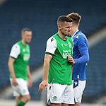 22.05.2021 Scottish Cup Final, St Johnstone v Hibs: Hibs dejection, Paul McGinn
