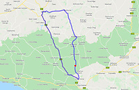 BNPS.co.uk (01202 558833)<br /> Pic: DorsetCouncil/BNPS<br /> <br /> The proposed 41 mile diversion Godmanstone is marked in red.<br /> <br /> Motorists have hit out at a 'crazy' local council after it announced a 41 mile diversion around a 65ft stretch of roadworks.<br /> <br /> A small section of the A352 in Godmanstone, Dorset will be closed between Monday and Friday next week for work on a sewage system.<br /> <br /> Just over 65ft of the carriageway will be closed off by workmen but Dorset County Council have given an official diversion measuring an incredible 41 miles.