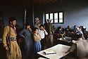Iran 1979.Peshmergas of KDPI resting in a tea house   Iran 1979 Peshmergas du PDKI se reposant dans une maison de thé