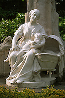 Europe/France/Nord Pas-de-Calais/59/Nord/Lille: Détail de la statue du Petit Quinquin dans le Square Foch par Emile Deplechin