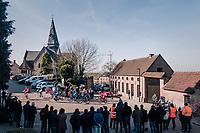 breakaway group<br /> <br /> Omloop Het Nieuwsblad 2018<br /> Gent › Meerbeke: 196km (BELGIUM)
